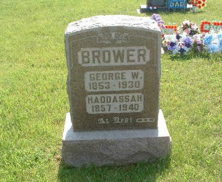 BROWER, GEORGE W. - Mills County, Iowa | GEORGE W. BROWER