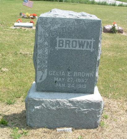 BROWN, CELIA E. - Mills County, Iowa | CELIA E. BROWN