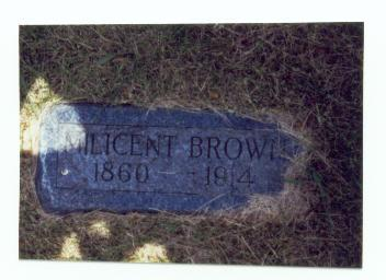 PLUMB BROWN, MILICENT - Mills County, Iowa | MILICENT PLUMB BROWN