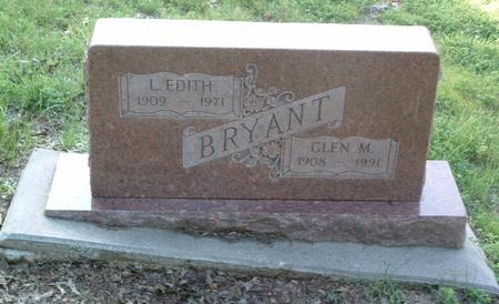 BRYANT, L. EDITH - Mills County, Iowa | L. EDITH BRYANT
