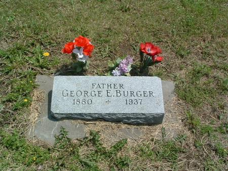 BURGER, GEORGE E. - Mills County, Iowa   GEORGE E. BURGER
