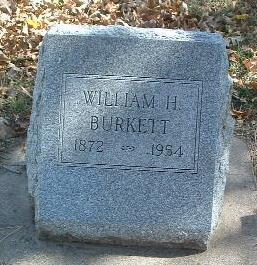 BURKETT, WILLIAM H. - Mills County, Iowa | WILLIAM H. BURKETT