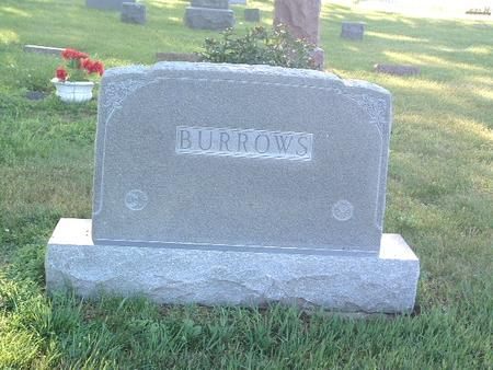 BURROWS, FAMILY HEADSTONE - Mills County, Iowa | FAMILY HEADSTONE BURROWS