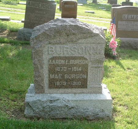 BURSON, AARON E. - Mills County, Iowa | AARON E. BURSON