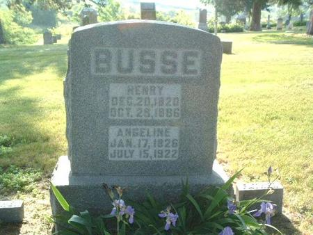 BUSSE, ANGELINE - Mills County, Iowa | ANGELINE BUSSE