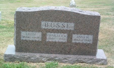BUSSE, ANNA M. - Mills County, Iowa | ANNA M. BUSSE