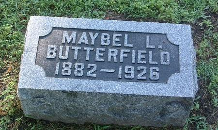BUTTERFIELD, MAYBEL L. - Mills County, Iowa | MAYBEL L. BUTTERFIELD