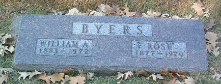 BYERS, WILLIAM A. - Mills County, Iowa | WILLIAM A. BYERS