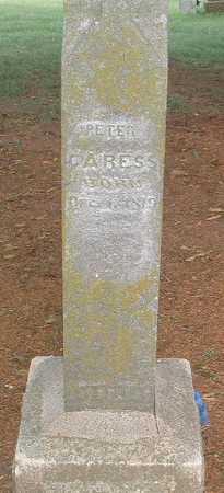 CARESS, PETER - Mills County, Iowa   PETER CARESS