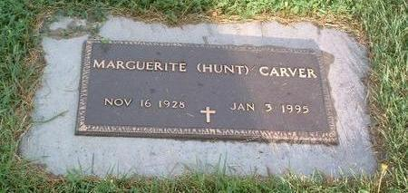 HUNT CARVER, MARGUERITE - Mills County, Iowa | MARGUERITE HUNT CARVER