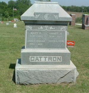 CATTRON, MARY E. - Mills County, Iowa | MARY E. CATTRON