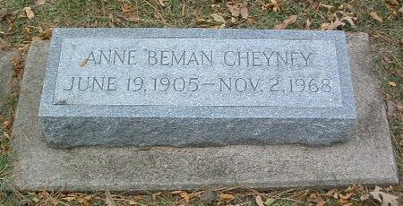 CHEYNEY, ANNE - Mills County, Iowa | ANNE CHEYNEY