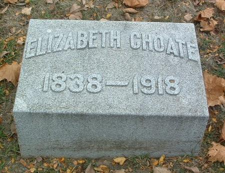 CHOATE, ELIZABETH - Mills County, Iowa | ELIZABETH CHOATE