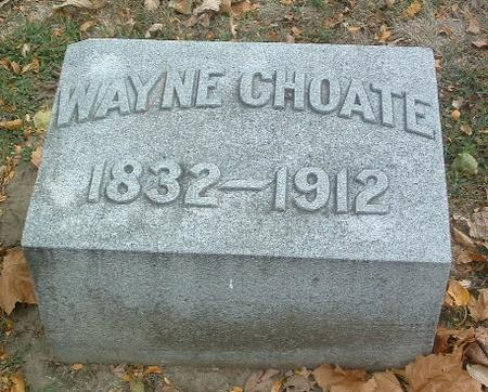 CHOATE, WAYNE - Mills County, Iowa | WAYNE CHOATE