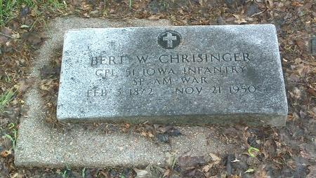 CHRISINGER, BERT W. - Mills County, Iowa | BERT W. CHRISINGER