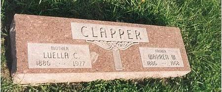 ASMAN CLAPPER, LUELLA C - Mills County, Iowa | LUELLA C ASMAN CLAPPER
