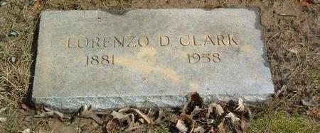 CLARK, LORENZO D. - Mills County, Iowa | LORENZO D. CLARK