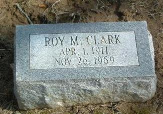 CLARK, ROY M. - Mills County, Iowa | ROY M. CLARK