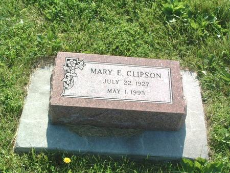 CLIPSON, MARY E. - Mills County, Iowa | MARY E. CLIPSON