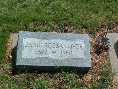 ROSS CLOVER, JANIE - Mills County, Iowa | JANIE ROSS CLOVER
