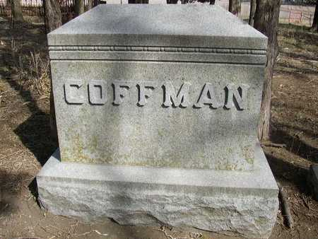 COFFMAN, HEADSTONE - Mills County, Iowa | HEADSTONE COFFMAN
