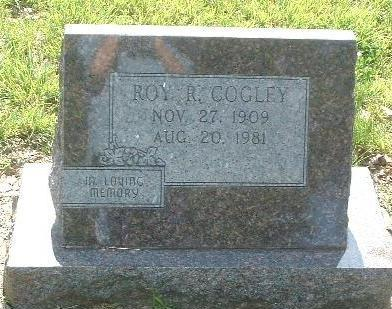 COGLEY, ROY R. - Mills County, Iowa | ROY R. COGLEY