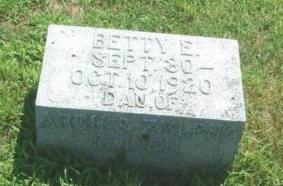 COINER, BETTY E. - Mills County, Iowa | BETTY E. COINER