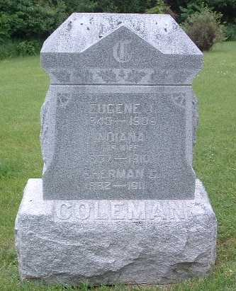 COLEMAN, INDIANA - Mills County, Iowa | INDIANA COLEMAN
