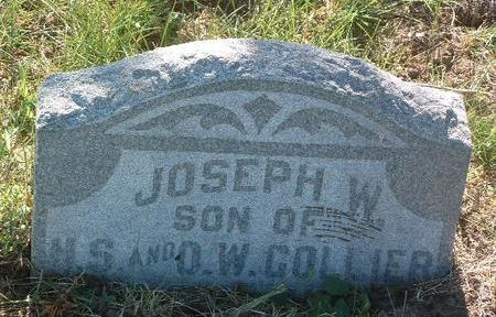 COLLIER, JOSEPH W. - Mills County, Iowa | JOSEPH W. COLLIER