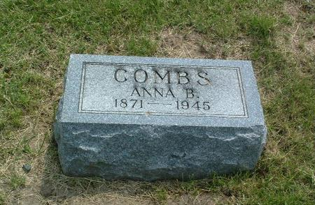 COMBS, ANNA B. - Mills County, Iowa | ANNA B. COMBS