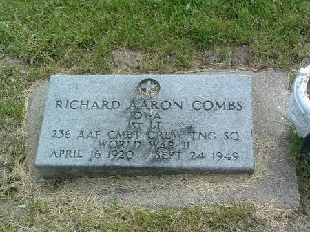 COMBS, RICHARD AARON - Mills County, Iowa   RICHARD AARON COMBS