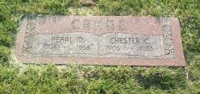 CRANE, PEARL M. - Mills County, Iowa | PEARL M. CRANE