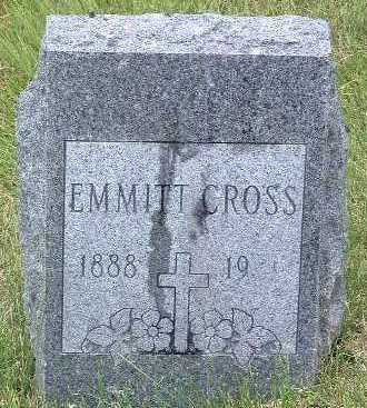 CROSS, EMMITT - Mills County, Iowa | EMMITT CROSS
