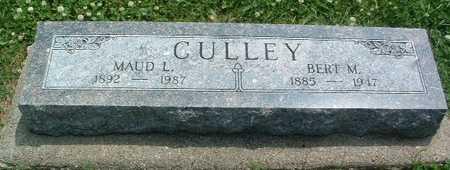 CULLEY, MAUD L. - Mills County, Iowa | MAUD L. CULLEY