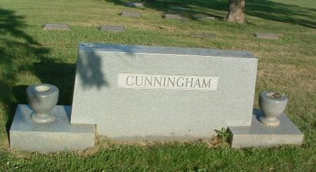 CUNNINGHAM, FAMILY HEADSTONE - Mills County, Iowa | FAMILY HEADSTONE CUNNINGHAM