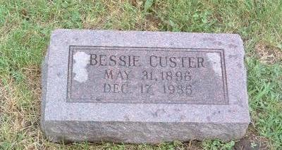 CUSTER, BESSIE - Mills County, Iowa | BESSIE CUSTER