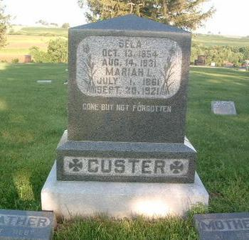 CUSTER, SELA - Mills County, Iowa | SELA CUSTER