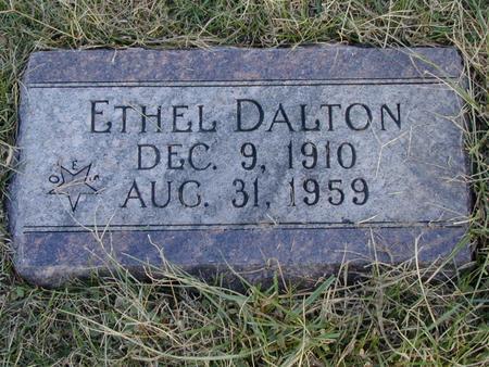 DALTON, ETHEL - Mills County, Iowa   ETHEL DALTON