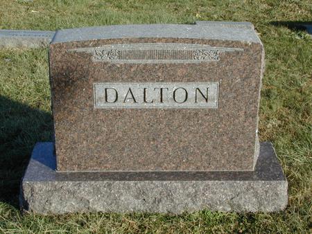 DALTON, FAMILY - Mills County, Iowa   FAMILY DALTON