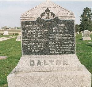 DALTON, WILLIAM S - Mills County, Iowa | WILLIAM S DALTON