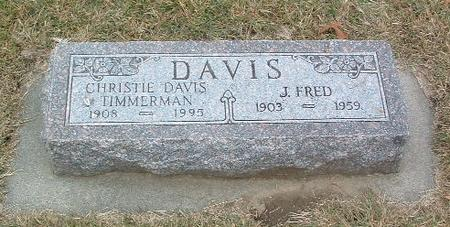 DAVIS, J. FRED - Mills County, Iowa | J. FRED DAVIS