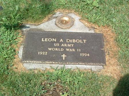 DEBOLT, LEON A. - Mills County, Iowa | LEON A. DEBOLT