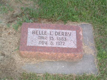 DERBY, BELLE L. - Mills County, Iowa | BELLE L. DERBY
