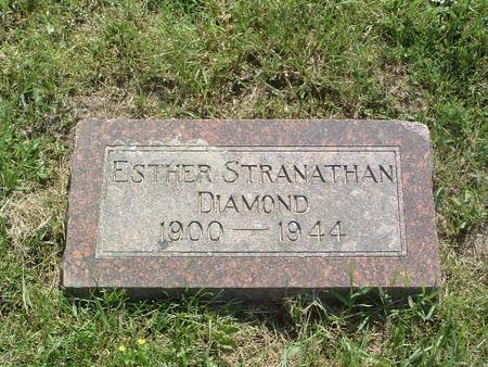 STRANATHAN DIAMOND, ESTHER - Mills County, Iowa | ESTHER STRANATHAN DIAMOND