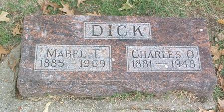 DICK, CHARLES O. - Mills County, Iowa | CHARLES O. DICK