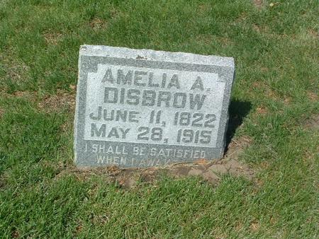 DISBROW, AMELIA A. - Mills County, Iowa | AMELIA A. DISBROW