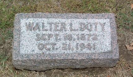 DOTY, WALTER L. - Mills County, Iowa | WALTER L. DOTY