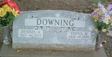 DOWNING, VERNA M. - Mills County, Iowa | VERNA M. DOWNING