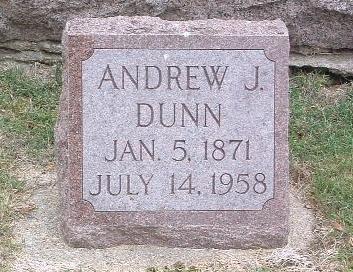 DUNN, ANDREW J. - Mills County, Iowa | ANDREW J. DUNN