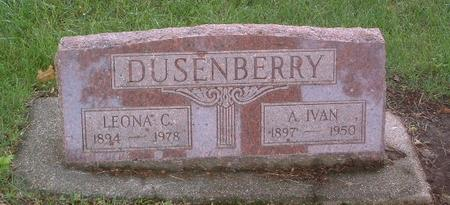 DUSENBERRY, A. IVAN - Mills County, Iowa | A. IVAN DUSENBERRY